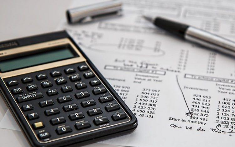 calculadora y borradores